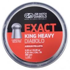 JSB Exact King Heavy 6,35mm 2,2g